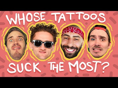 Who Has The Worst Tattoos On YouTube? | YouTuber Tattoo Review!
