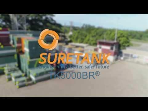 Suretank Latin America launches new TK 5000BR Offshore Tank