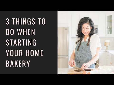 What To Do Before You Start Your Home Bakery