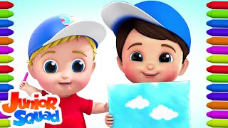 Colors Song | Learn Colors For Kids | Nursery Rhymes For Babies | Baby Songs