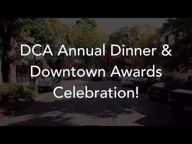 Downtown Camas Association (DCA) Annual Dinner & Downtown Awards Celebration