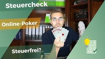 Besteuerung von Online-Poker?!