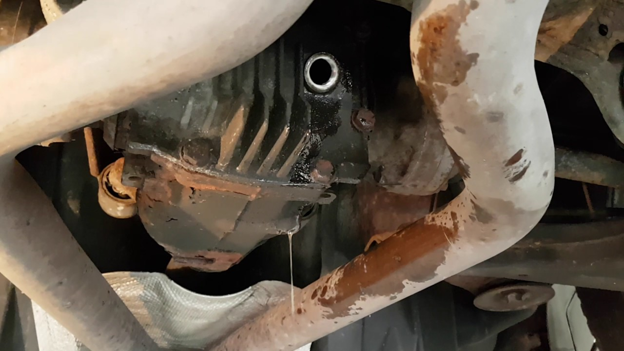 Range Rover L322 How To Change The Oil In The Diff Youtube
