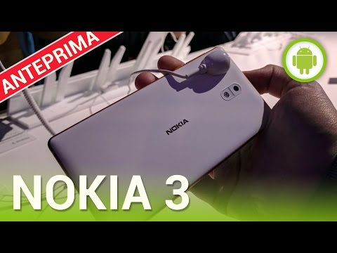 Nokia 3, la nostra anteprima MWC 2017