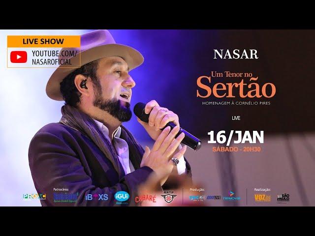Live Nasar - Um Tenor no Sertão - Homenagem a Cornélio Pires