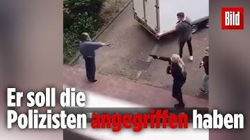 Polizei erschießt Messer-Mann   Bremen