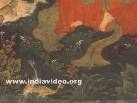 Shahji muses on his beloved Mahji, Indian painting from Pem-nem, composed by Poet Hams