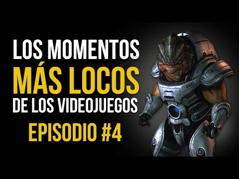 Los MOMENTOS MÁS LOCOS de los VIDEOJUEGOS #4