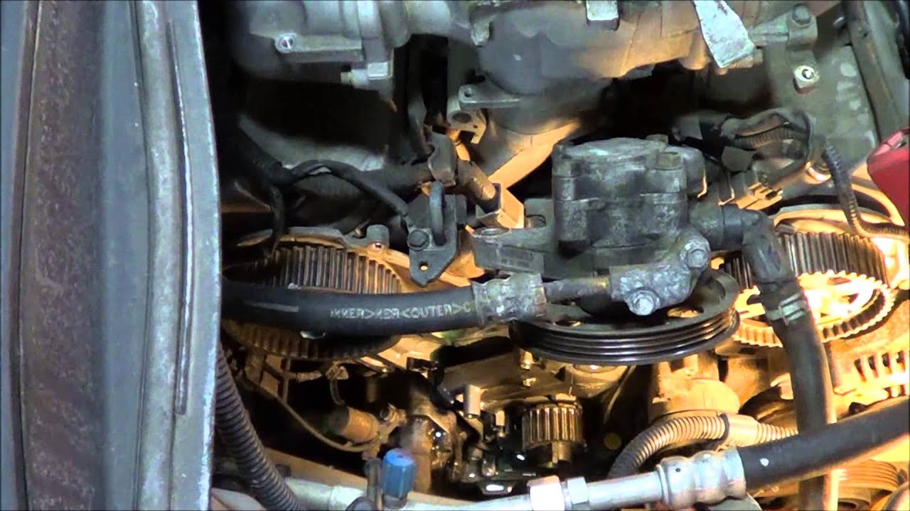 hight resolution of how to replace the timing belt on a 2004 honda pilot 3 5 v6