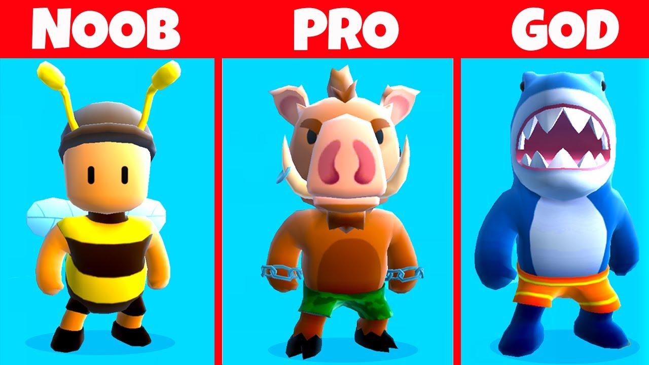 Download NOOB vs PRO vs GOD ! - Stumble Guys *  neverovatno *