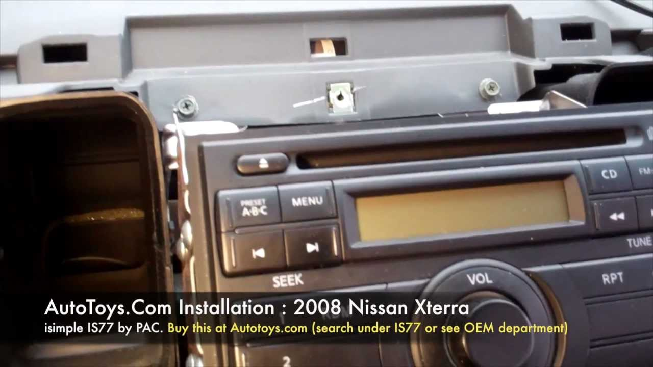 Nissan Xterra IPOD Isimple PAC IS77 Direct Fm Modulated Aux Mp3 ...