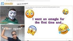 I went on OMEGLE for the FIRST TIME *Hilarious* | Making new friends gone wrong !