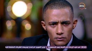 بالفيديو | محمد رمضان يبكي على الهواء