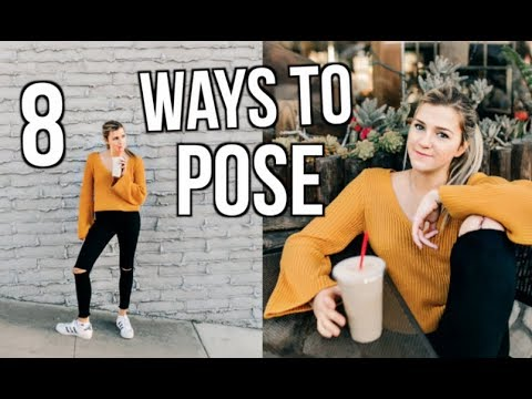 How To Pose in Photos | 6 Easy Photos Poses for Instagram