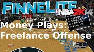 NBA 2K14 Money Plays: Freelance Offense
