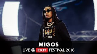 EXIT 2018   Migos Bad and Boujee Live @ Main Stage