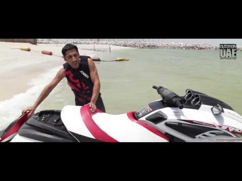Yamaha Wave Runner FZR - Outdoor UAE Tried & Tested 2016 Dubai beach Jetski