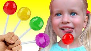 Детская песня про цвета | Песни для детей от Кати и Димы