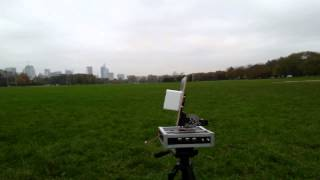 Ghettostation tracker test with FSK audio telemetry