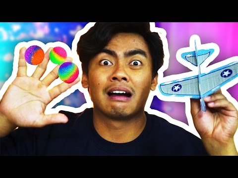 Thumbnail: DIY How To Make BOUNCY BALL + AIRPLANE!