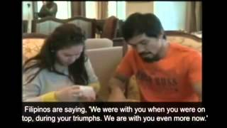Manny Pacquiao And Wife In Tears!!