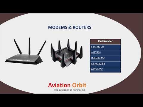 Aviation Orbit – Leading Distributor of Aerospace and Aviation, IT Hardware Parts
