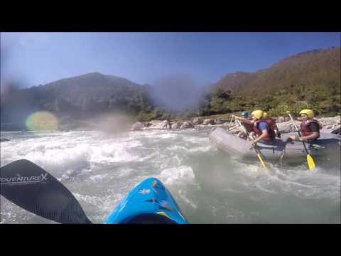 White Water Rafting Lower Bhotekoshi Sun Koshi Nepal