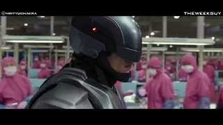 Robocop 2014 - Escape From The Laboratory Scene HD