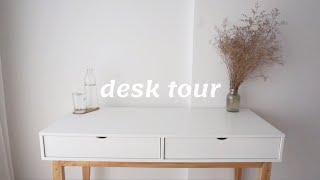 DESK TOUR!  [ stop motion by Simple Victoria ]