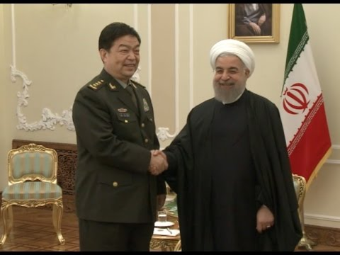 Iranian President Meets With Visiting Chinese Defense Minister on Bilateral Ties