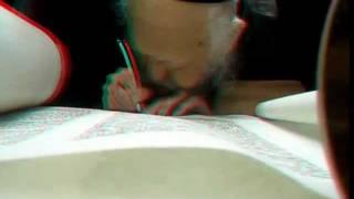 Rabbi Elyashiv very special video in 3D