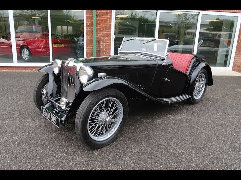 SOLD 1938 MG Midget TA roadster Classic Car for Sale in Louth Lincolnshire