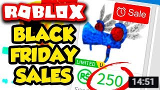 BLACK FRIDAY SALES ON ROBLOX (75% OFF!)