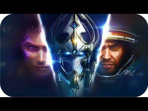 StarCraft All Cinematics Movies 1998- 2017 [All Cutscenes In StarCraft Games]