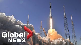 SpaceX launches 3 Canadian radar satellites to survey the North