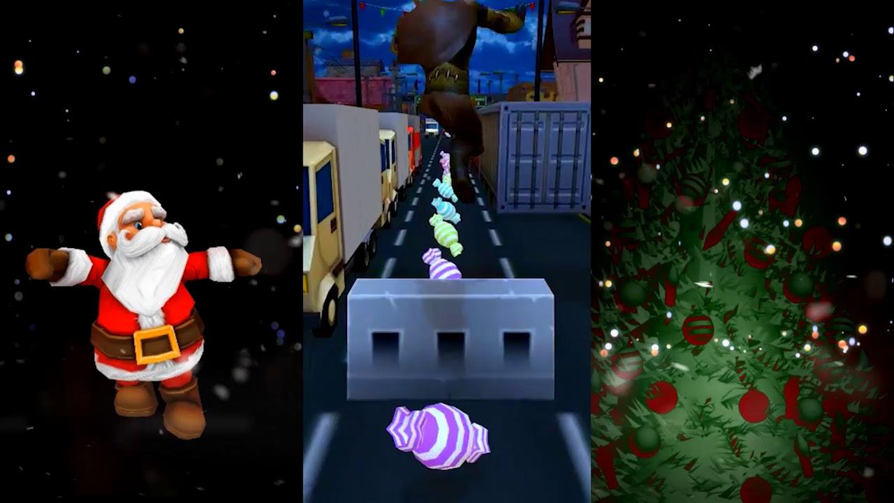 santa rides santa xmas subway surf android gameplay hd - Subway Christmas Eve Hours