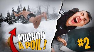 Michou et Inoxtag bouffent la neige du Canada ! #2