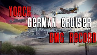 Yorck DMG NA, EU, Asia Server Record || World of Warships