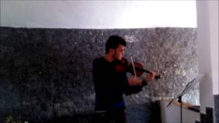 Concerto No.3 in G Minor Op.12 1st movement - Friedrich Seitz - Violin (Jonathan Pires)