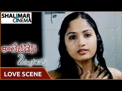 College Days to Marriage Days Movie || Madhavi Latha Best Love Scene || Shalimarcinema thumbnail
