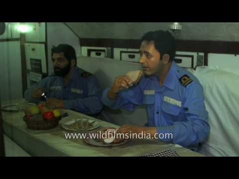 Life of Indian naval officers at INS Kursura S20 submarine, Andhra Pradesh