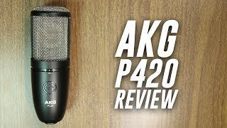 aKG P420 Multi-Pattern XLR Condenser Mic Review / Test