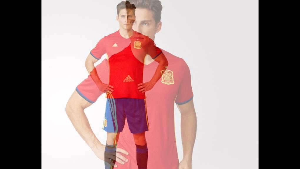 82b9fbc7967 Spain Euro 2016 Adidas Home Kit Released - YouTube
