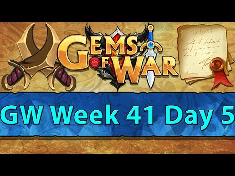 ⚔️ Gems of War Guild Wars | Week 41 Day 5 | A New Dawn ⚔️