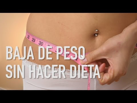 como eliminar grasa sin hacer ejercicio