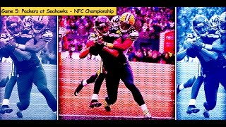 Packers vs. Seahawks NFC Championship Game highlights (#5 game in 2014)