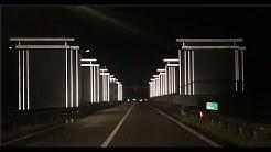 Iconisch licht op de Afsluitdijk