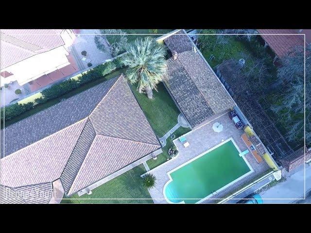 Video Ricognizione Aerea - Immobiliare - Villa indipendente unico livello Ardea - Pomezia - Roma
