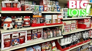 BIG LOTS * CHRISTMAS IDEAS * SHOP WITH ME 2019