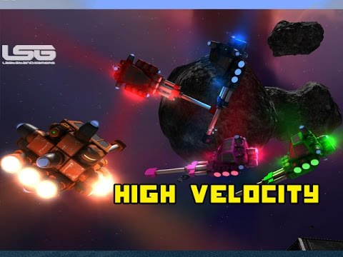 Space Engineers - High Velocity Cannon, Dangerous Recoil Dogfight